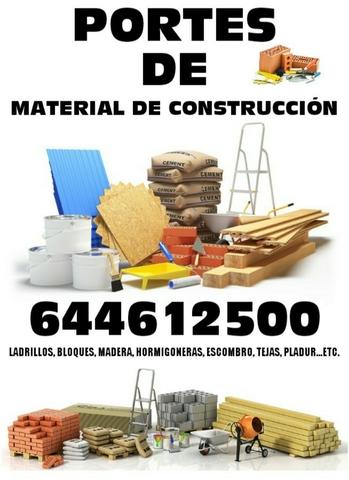 TRASLADOS DE MATERIALES DE CONSTRUCCIÓN - foto 1
