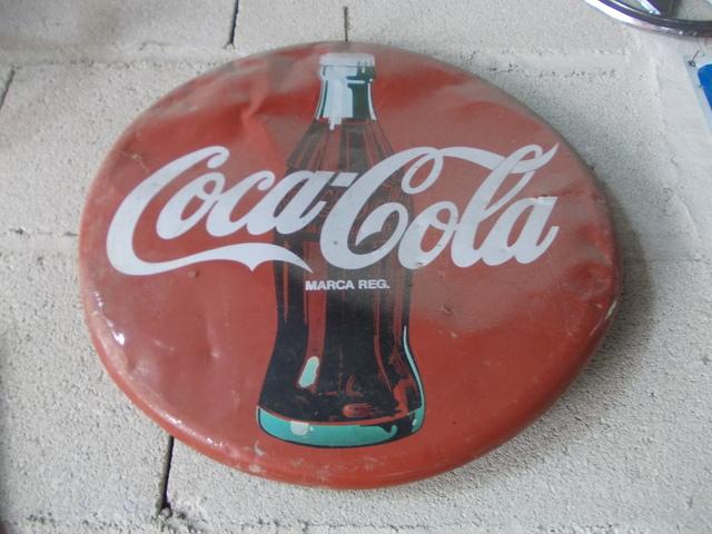 Cartel Metalico Coca Cola