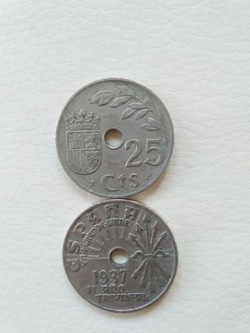 Monedas 25 Centimos