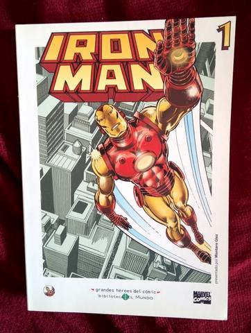 Grandes Héroes Del Cómic (Iron Man)