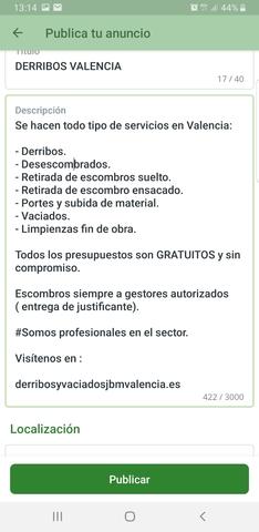 DERRIBOS Y DESESCOMBRADOS EN VALENCIA.  - foto 2