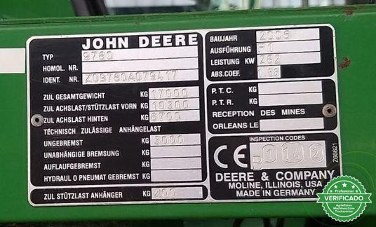 JOHN DEERE 9780I CTS - foto 9