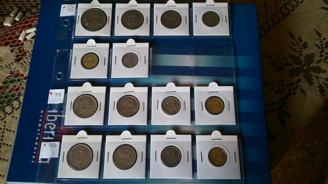 Lote Coleccion Monedas Rey *76.*78.*80.