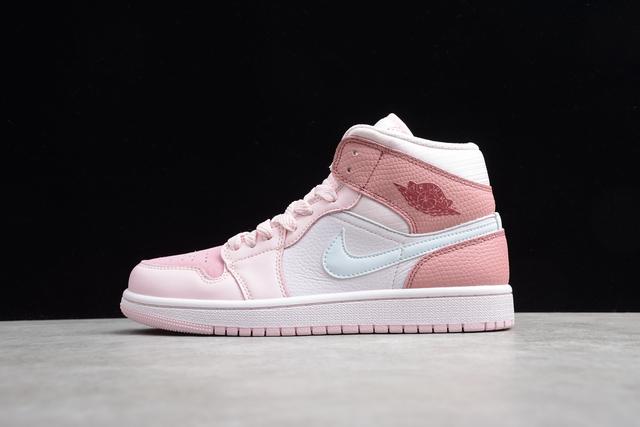 air jordan 1 mujer rosa