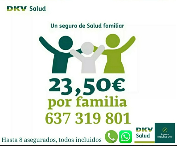 DKV SEGURO DE SALUD FAMILIAR POR 23, 50 - foto 1