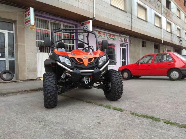 CF MOTO 550 EFI - foto 4