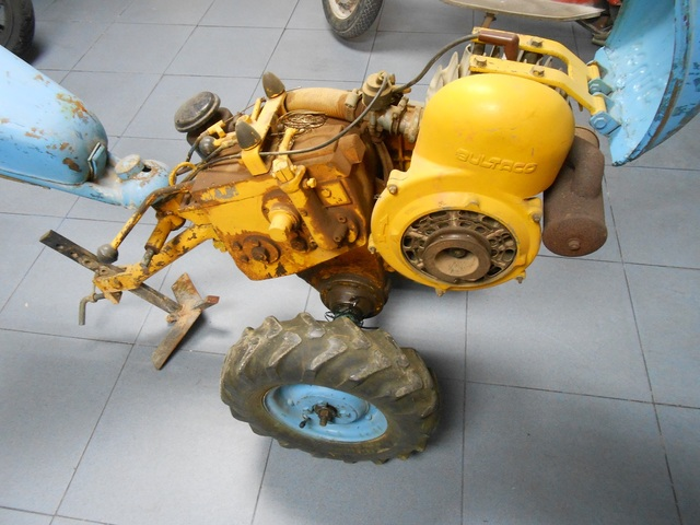 MOTOCULTOR BULTACO / GYRMET - foto 1