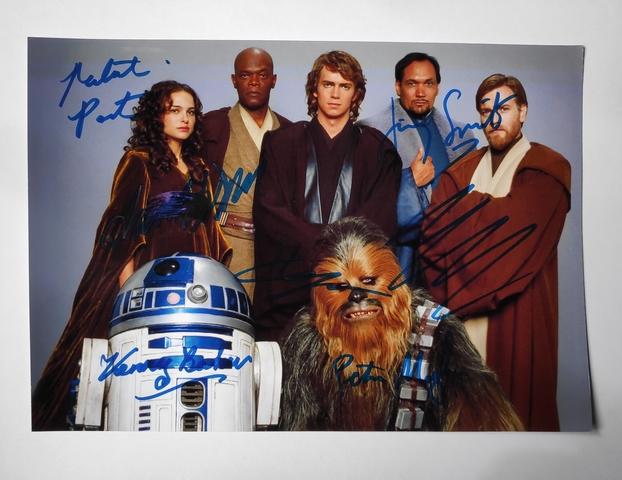 Foto Y Autógrafos Star Wars