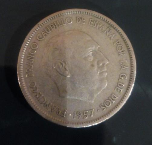 Moneda España 1957