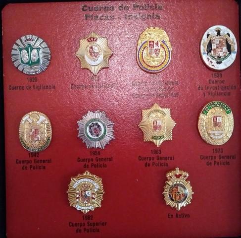 Pins Cuerpo Nacional De Policia