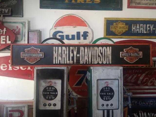 Cartel Harley Davidson Vintage