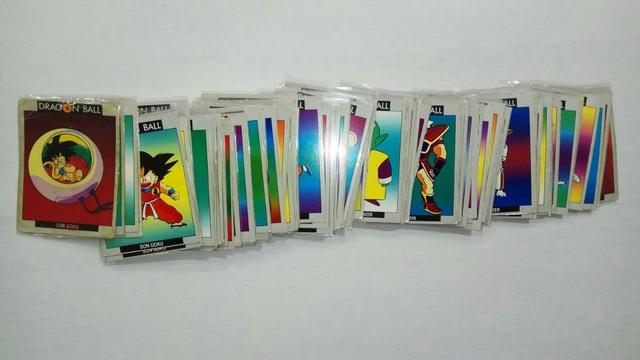 Colección Cartas Dragon Ball Ed Este 90