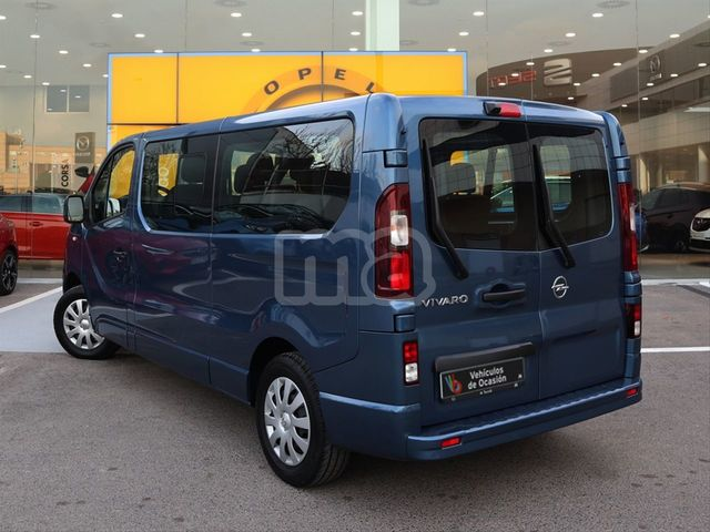 OPEL Vivaro 2008-Deluxe Negro//Azul Van Fundas Single Doble