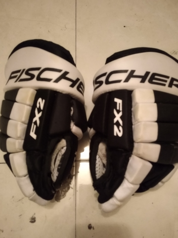 GUANTES HOCKEY FISHER - foto 1