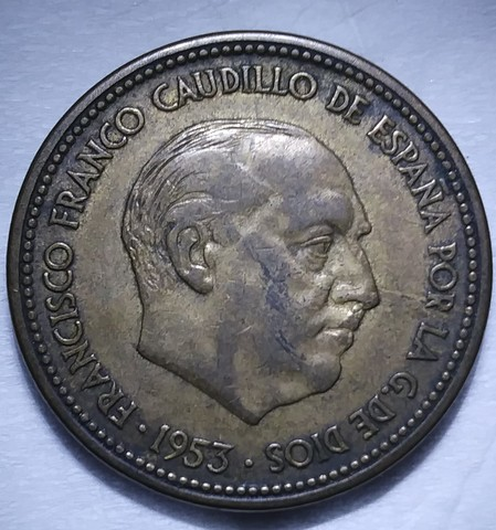 Moneda De 2.50 Franco