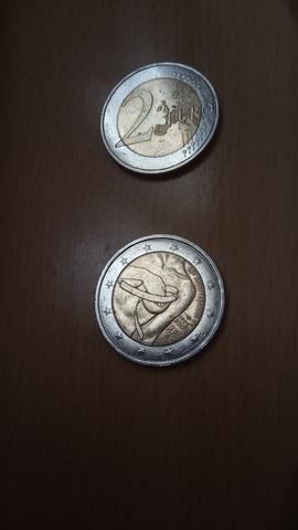 Moneda Dos Euros.