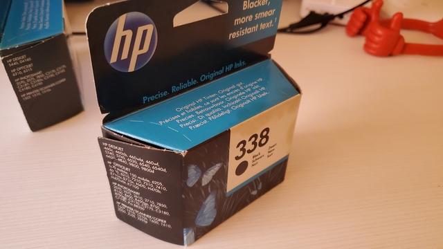 CARTUCHO DE TINTA HP 338 PRECINTADO - foto 3