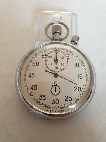 Cronometro Sovietico Agat  De 1988