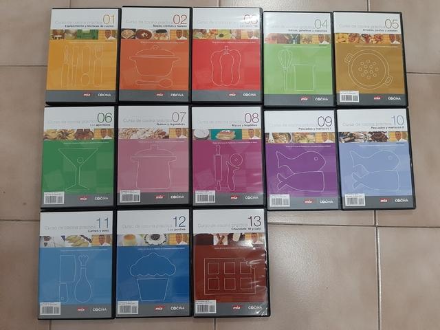 13 DVD PARA APRENDER A COCINAR - foto 1