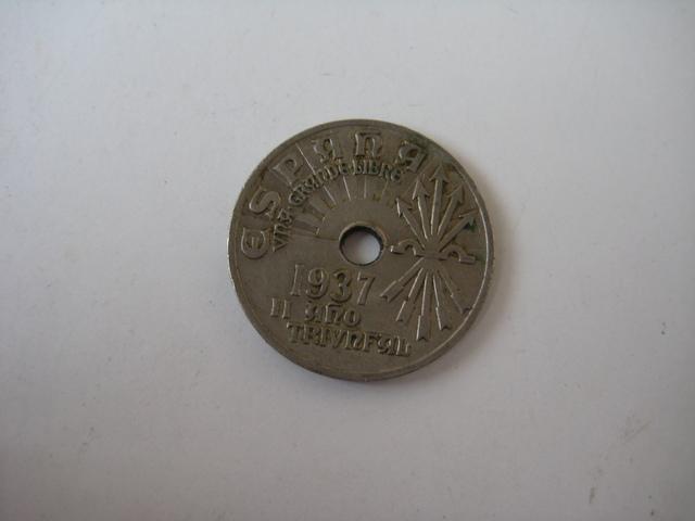 Moneda España Nacional.