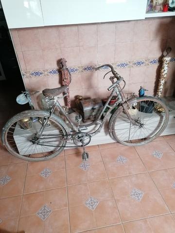 Bicicleta De Varillas Orbea De Los 40.
