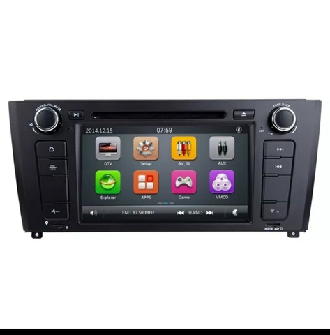 RADIO 2 DIN GPS ANDROID BMW SERIE 1 - foto 2