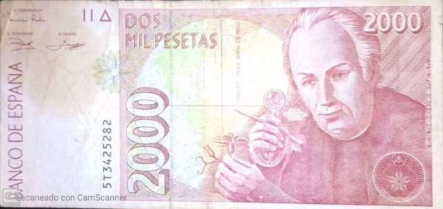 2000 Pesetas 1992