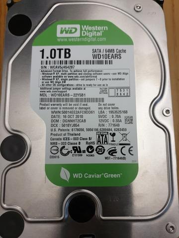 DISCO DURO HDD SATA 1TB 1000GB WD - foto 1