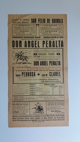 CARTEL:  A. PERALTA,  R. PEDROSA , J. M. CLAVEL - foto 1
