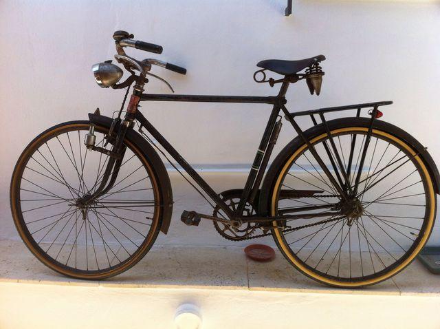 Bicicleta Orbea Varillas Años 50