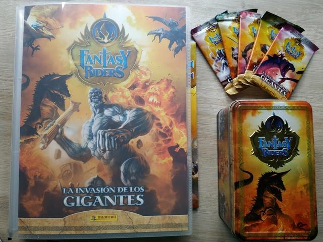 Colección Completa Fantasy Riders 2019