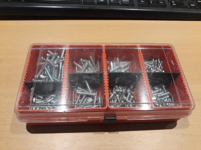 Tornillos Rosca Metal Surtido 8 Medidas