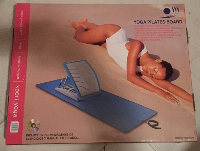 TABLA YOGA PILATES - foto 1