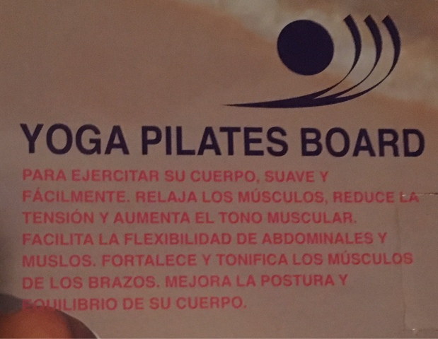 TABLA YOGA PILATES - foto 3