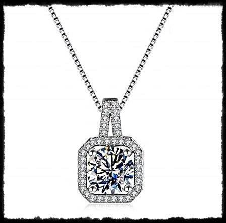 Collar De Cristal Austriaco Torre Y Colgante pendientes o conjunto de ambos en Bolsa De Regalo