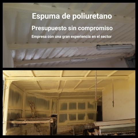 ESPUMA Y POLIUREA PROYECTADA - foto 5