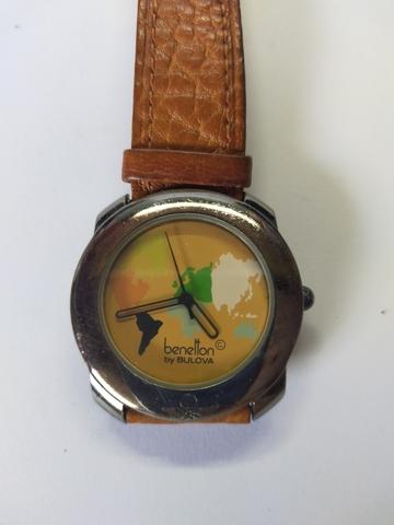 Reloj Benetton Mapamundi Años 80