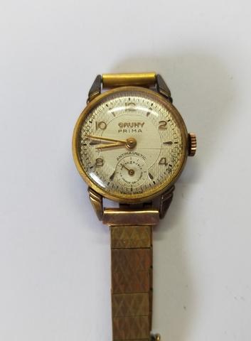 Reloj Cauny Prima De Mujer Antiguo