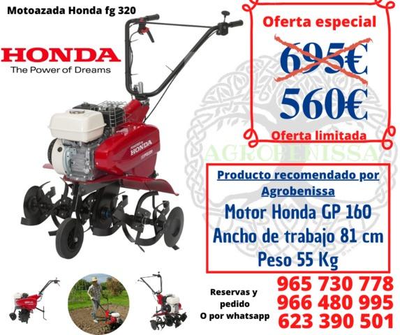 MOTOAZADA HONDA FG 320 - foto 1