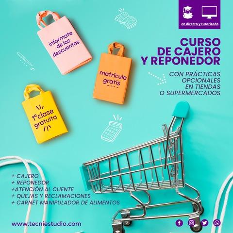 CURSO DE CAJERO/A Y REPONEDOR - foto 1