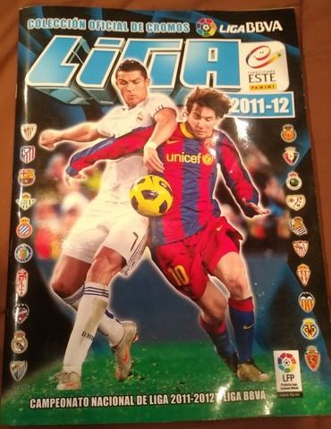 Álbum Cromos Liga Este 2011/12 Completo