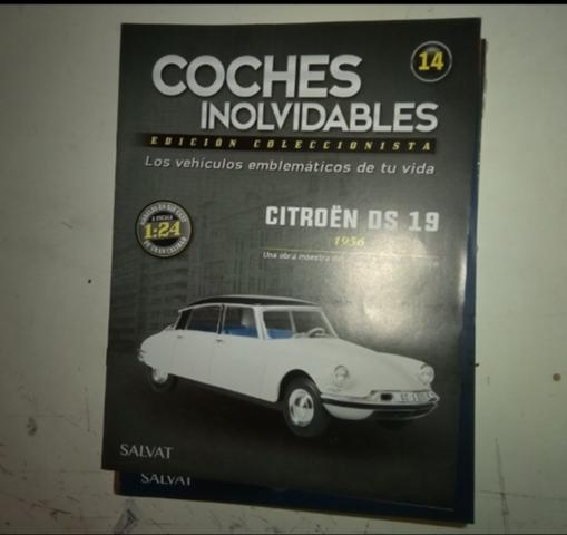 sólo revista, no miniatura Fascículos Coches Inolvidables Salvat