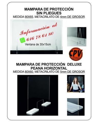 SISTEMAS DE PROTECCIÓN CONTRA EL COVID19 - foto 2