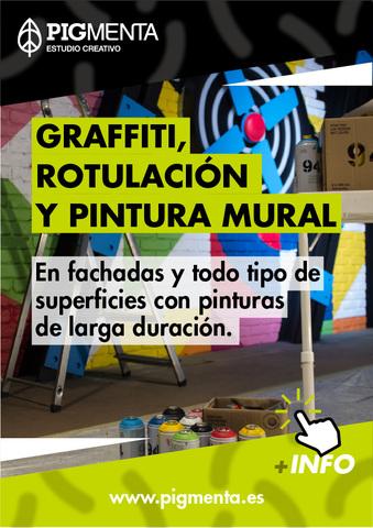 GRAFFITI,  ROTULACIÓN Y PINTURA MURAL - foto 1