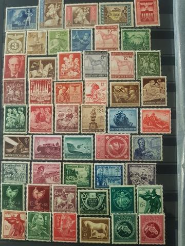 Lotes De Sellos De Alemania Desde 1910