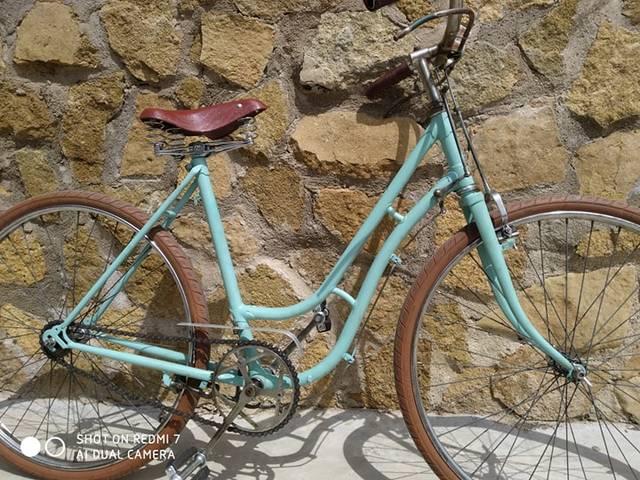 Bicicleta Varillas Orbea Color Bianchi