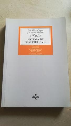 LIBRO SISTEMAS DEL DERECHO CIVIL - foto 1