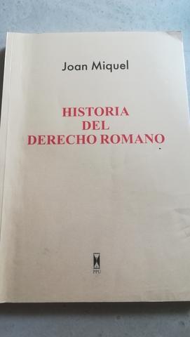 LIBRO HISTORIA DERECHO ROMANO - foto 1