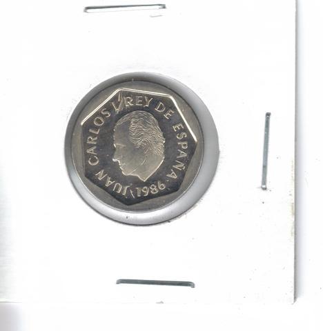Moneda De  200 Ptas. De  1986  (S/C)
