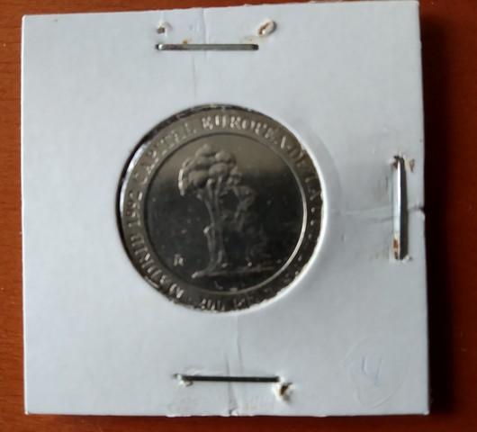 Moneda De  200 Ptas. Del  92 (S/C)  Oso